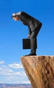 Attribution is like standing on  Mountain Cliff