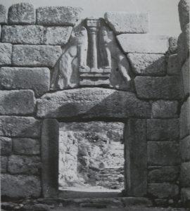 Lions Gate Arch cornerstone