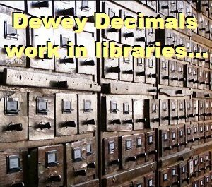 Dewey Decimal System works for marketing content, too